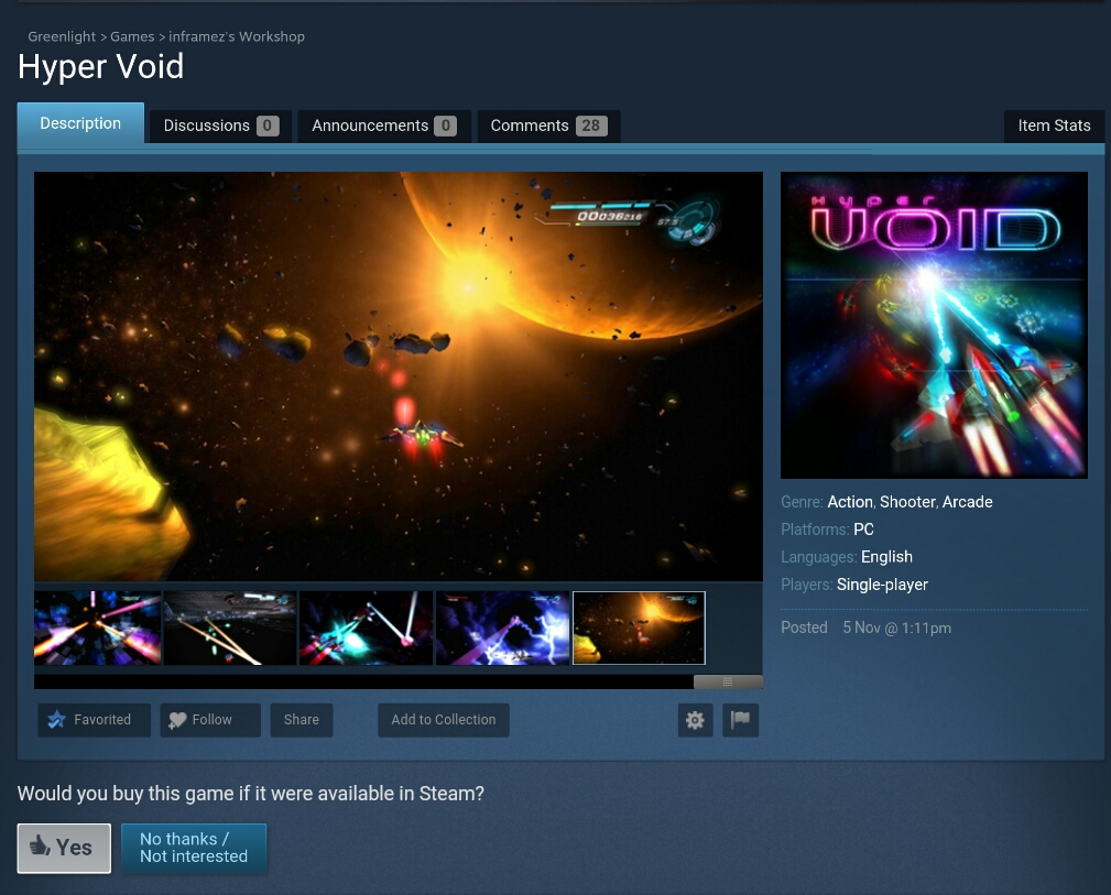 Hyper Void Greenlight